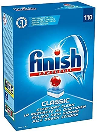 Finish Powerball Classic Dishwashing Tablets 110pk