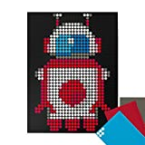 dot on art Robot DIY Poster - 30 x 40 cm – Bastelset für