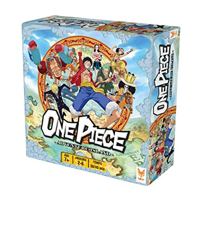 Topi Games- One Piece Juegos de Mesa OP-629001, Multicolor
