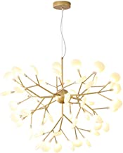 Nordic Chandelier Personality Modern Personality Leaf Dining Room Living Room Bedroom Chandelier (Color : Chandelier)