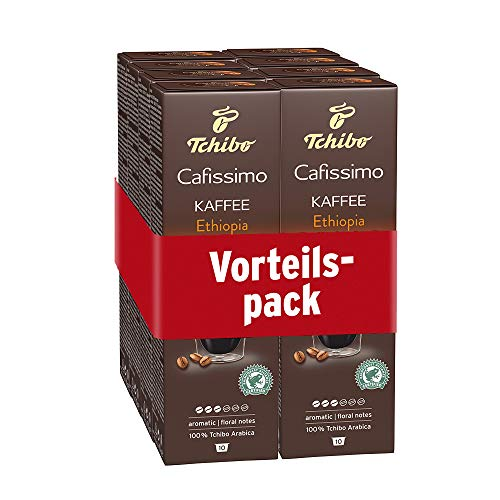 Tchibo Cafissimo Kaffee Ethiopia Kapseln, 80 Stück (8 x 10 Kapseln)