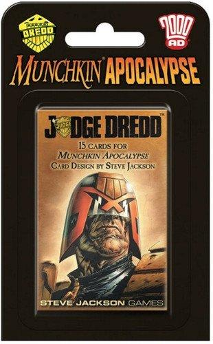 Steve Jackson Games sjg04248–Juego de Cartas Munchkin Apocalipsis Judge Dredd