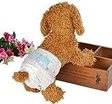 Disposable Dog Diaper -Bailuoni Pet Diaper Female for Teddy Bichon Frise Poodle Pet