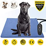 Pet Heating Pad,Dog Electric Heating Pad,29.5''x17.7'' Waterproof...