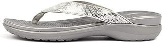 Crocs Capri V Sequin Womens Flat Sandals Summer Sandals