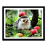 Paint by Number Cute Hedgehog Paint by Numbers DIY Painting Acrylic Paint by Numbers Painting Kit Home Wall Decoration 40x50cm
