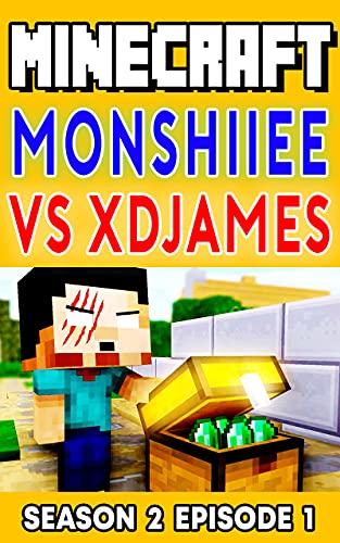 Minecraft Comic Book: Monshiee Vs XDJames Season 2 Episode 1 (English Edition)
