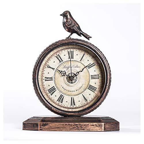 Reloj de Mesa Retro y viejo reloj pequeño reloj de estilo d