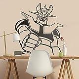 57x60cm wall sticker Mazinger Z. Classic Cartoon para los amantes de la serie de los años 80. Cool robot gigante