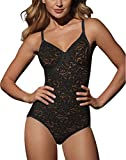 Bali Lace `N Smooth Women`s Firm Control Body Briefer Black