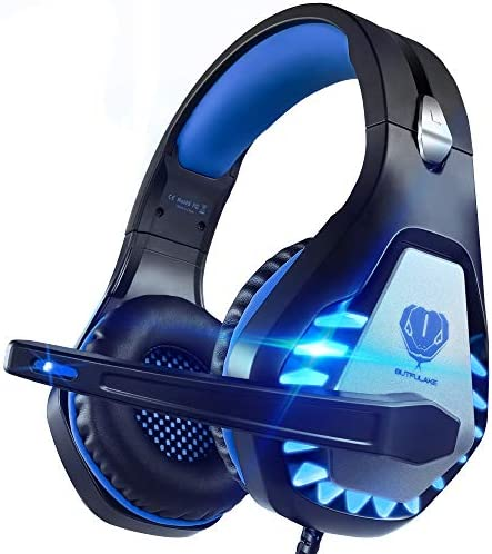 Pacrate PC Gaming Headset with Microphone for Xbox One Computer Mac Laptop PS4 Headset with product image