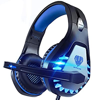 Pacrate Pro Gaming Headset for Xbox One, PS4, P...