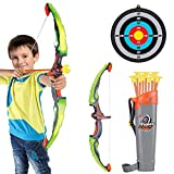 Conthfut Bow and Arrow for Kids with LED Flash Lights -...