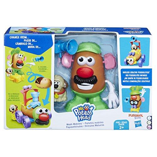 Playskool Pré Escolar Mr Potato Head Veiculos Malucos