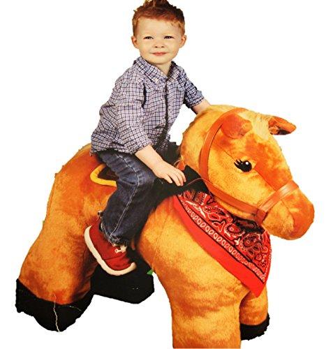 6V Plush Pony Ride On