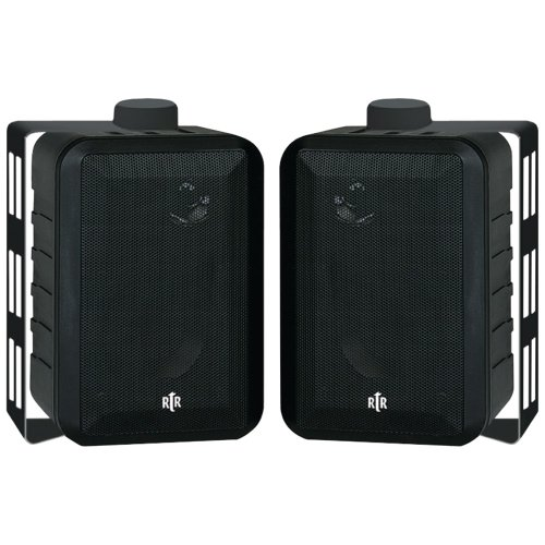 Buy Bargain BIC AMERICA RTRV44-2 RtR Series 3-Way Indoor/Outdoor Speakers (Black)