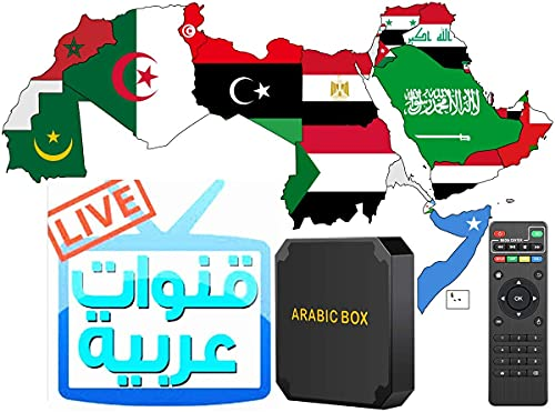 Arabic TV Box 2021 TV Box Quad Core ARM A53 CPU 2.0GHz 4K Video OTA Upgraded Stabler System and Faster Speed