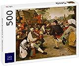 Lais Puzzle Pieter Bruegel el Viejo - Danza Campesina 500 Piezas