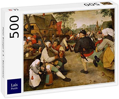 Puzzle Pieter Bruegel el Viejo   Danza Campesina 500 Piezas