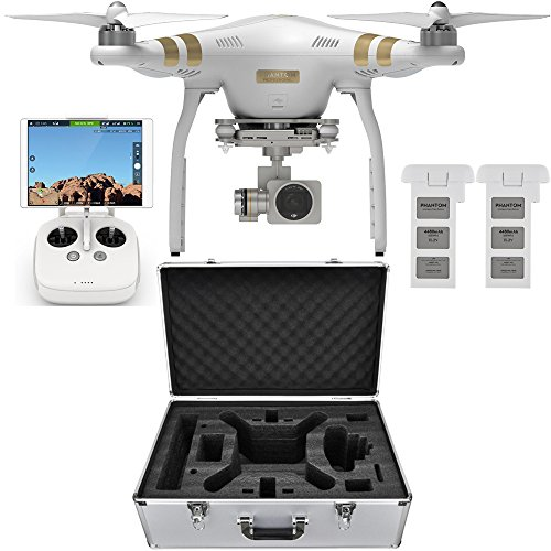 DJI Phantom 3 Professional Quadcopter Aircraft, 3-Axis...
