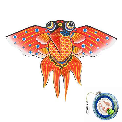 Kite Goldfish Beginners grote volwassen Breeze kan vliegen kinderen 3 soorten