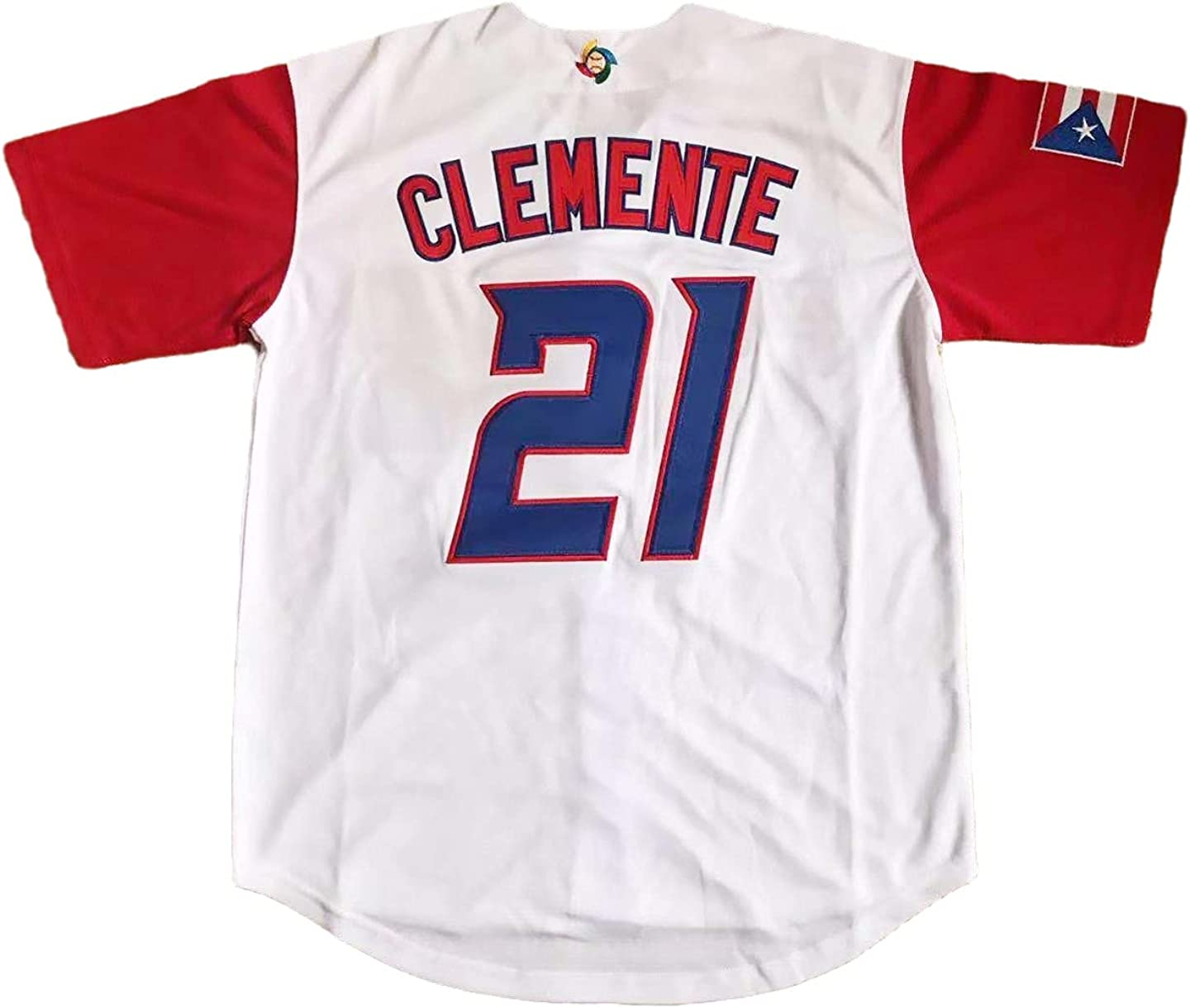 Mens Puerto Rico #21 Roberto World Now free shipping Free shipping anywhere in the nation Basebal Clemente Classic Game