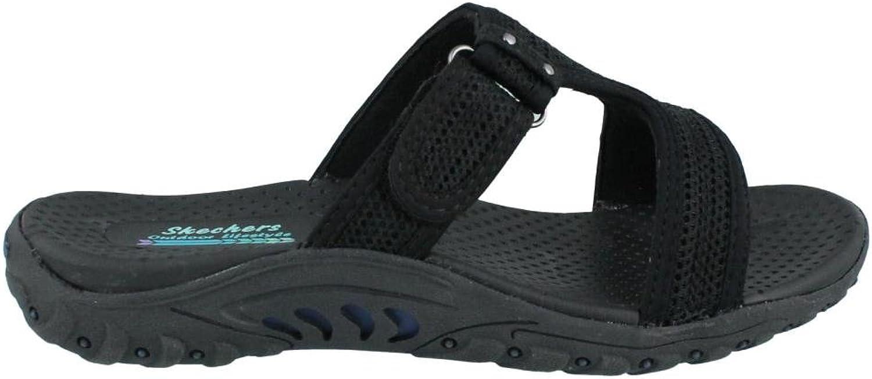Skechers Women& 39;s Reggae - Rockfest Sandal Sandals