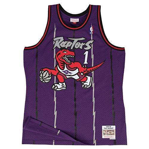 OuterStuff Tracy McGrady Toronto Raptors Mitchell & Ness Youth Throwback Swingman Jersey