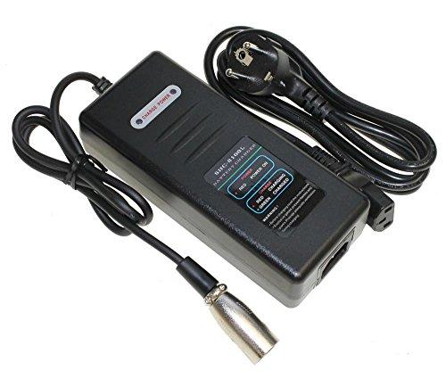 Ladegerät für Akku 36V 10,4Ah Lithium Ionen Ersatzbatterie Rahmenakku für E-Bike Pedelec Elektrofahrrad z.B. Prophete, Real, Zündapp, Batavus, Mifa