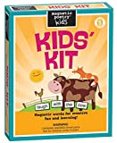 Magnetic Poetry - Kids Kit - Ages 5 and Up - Words for Refrigerator - Write Poems and Letters on The Fridge - Made in The USA