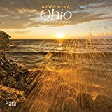 Ohio Wild & Scenic 2021 7 x 7 Inch Monthly Mini Wall Calendar, USA United States of America Midwest State Nature
