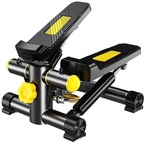 FZYE Up-Down Stepper Mini Steppers de Interior para Ejercicio Equipo de Fitness Gimnasio en casa Step Mini máquina para Hombre Mujer Trabajadores de Oficina Pantalla LED Resistencia aju