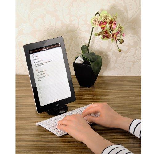 Hama Bluetooth-Tastatur (UK-Englisch) für Apple iPad weiß