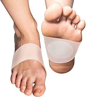 OmkuwlQ 1 Pair Arch Support Foot Cushion Pads Compression Massager for Flat Feet Green