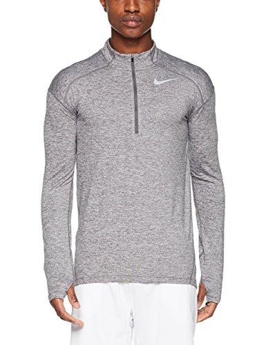 Men's Nike Dry Element 1/2-Zip Running Top (Medium, Dark Grey/Heather)