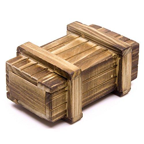 ZuoLan 1/10 RC voiture MINI boîte caisse en bois décoration pour Axial Wraith SCX10 AX10 Crawler Truck RC