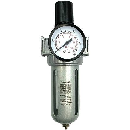 trampa de humedad del compresor de aleaci/ón de aluminio para limpiar el aire y filtrar la humedad en el aire comprimido regulador del compresor de aire AC3010-03 Regulador de filtro de aire
