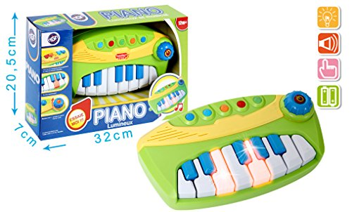 MGM - 050008 - Piano - Musical/Lumineux - 24,5 cm