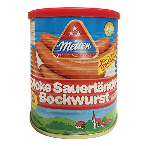 Metten Dicke Sauerländer Bockwurst 400g