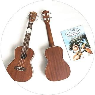 QLJ08 Lanikai Ukulele Soprano LU21 y Ukelele de caoba de concierto