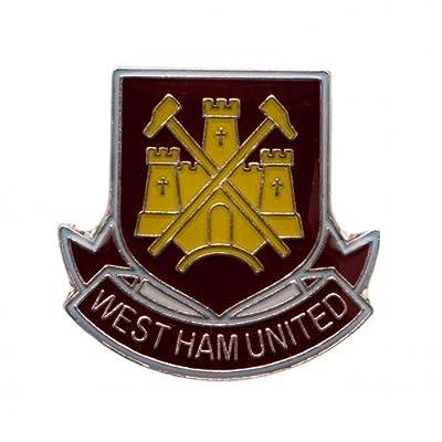 West Ham United Fc Official Metal Crest Pin Badge