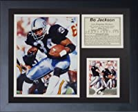 "Bo Jackson 11"" x 14"" Framed Photo Collage by Legends Never Die, Inc. - Black"