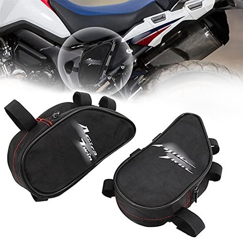 XJSM 2015 2016 2017 for Honda CRF1000L Africa Twin CRF 1000 L Motorcycle Repair Tool Placement Bag Frame Package Toolbox Waterproof Motorcycle