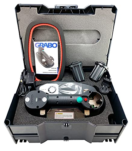 Nemo Grabo Plus KIT im Tanos Systemkoffer | Akku Vakuum Saugheber bis 170 Kg Tragkraft |