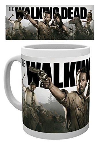 The Walking Dead - Banner - Keramic Kaffeebecher / Tasse