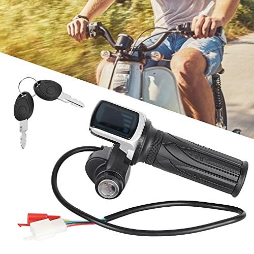 Eosnow Manillar con empuñadura de Acelerador para Scooter eléctrico, Manillar de empuñadura...