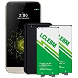 LG G5 Battery, 2X 3200mAh Li-ion Battery Replacement with Charger for LG BL-42D1F,VS987 Verizon, H820 AT&T, H830 T-Mobile, LS992 Sprint, US992, H845, Dual H850, H858, H860