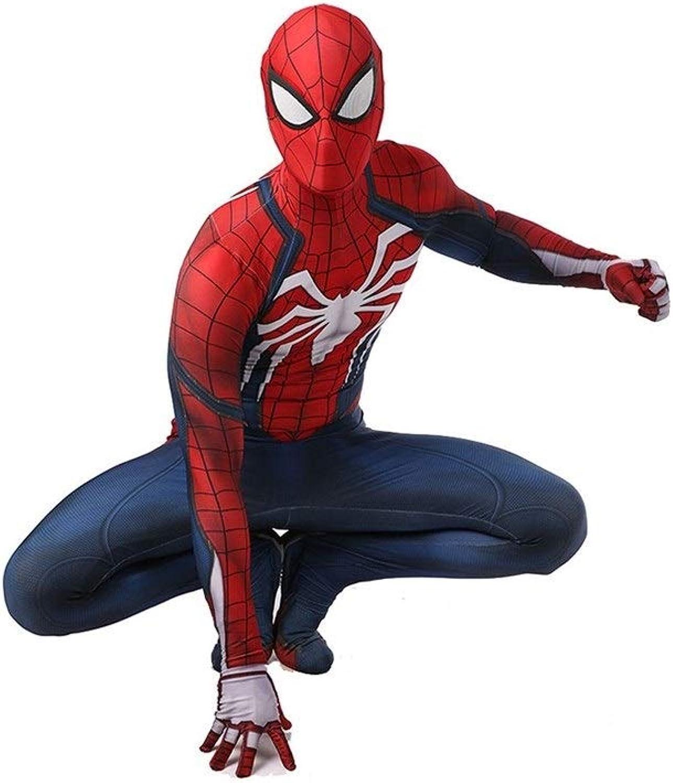 compras de moda online TOYSJuegoS Traje de CosJugar de de de Spiderman PS4 Medias elásticas Halloween Show de Disfraces de Disfraces ( Color   A , Talla   XXL )  mejor vendido