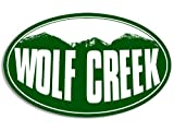 LPF USA Oval Wolf Creek Mountain BG Sticker (Snow ski Resort)