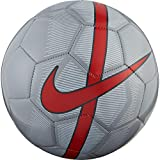Nike Unisex's Mercurial Fade Ball Football, Wolf Grey/Pure Platinum/Bright, 3